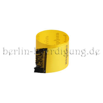 Trauer-Schleife gelb