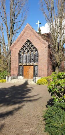Kapelle für Trauerfeiern