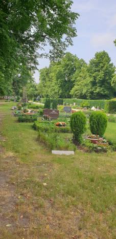 ländlicher Friedhof